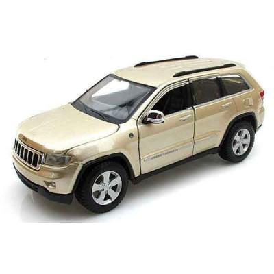 Автомодель Maisto (1:24) 2011 Jeep Grand Cherokee Золотистый
