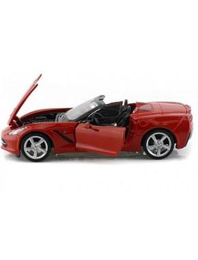 Автомодель Maisto (1:24) Corvette Stingray Convertible 2014 Красный