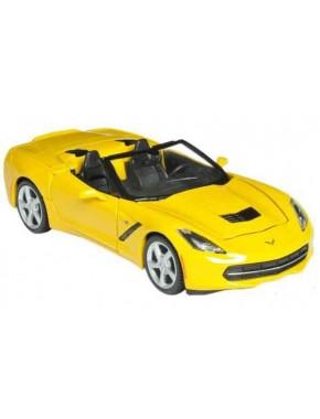 Автомодель Maisto (1:24) Corvette Stingray Convertible 2014 Желтый