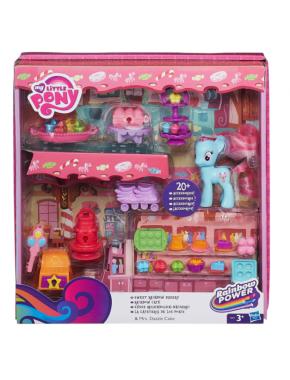 Игровой набор Hasbro My little Pony Рейнбоу кафе