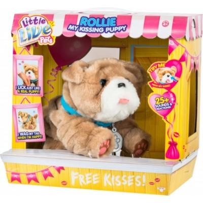 Интерактивная игрушка Литл Лай Петс: щенок Ролли Люблю целоваться (28669)