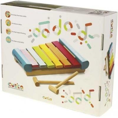 Деревянная игрушка ксилофон Cubika LKS-2 (14033)