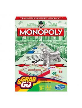 Настольная игра Монополия дорожная Hasbro на русском языке (29188121)