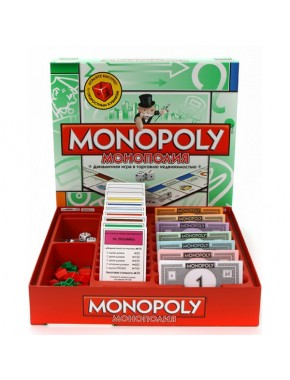 Настольная игра Монополия NEW Укр Hasbro (00009EG4)