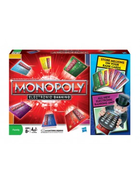 Игра Монополия с банковскими карточками Hasbro (37712)