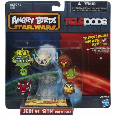 Набір з 6 фігур Angry Birds Star Wars Telepods A6180