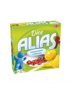 Настольная игра Tactic Alias с кубиками (53139)