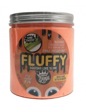 Лизун Compound Kings Slime Fluffy, 265 г, оранжевый (110272_3)