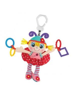 Игрушка-подвеска Playgro Божья Коровка (розовая)