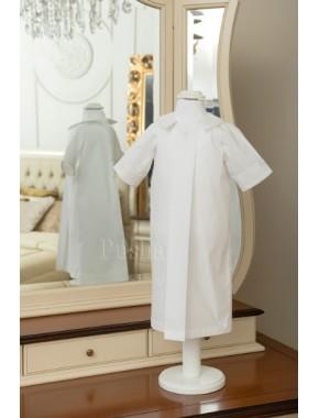 Рубашка для крещения Psh10white (0031)