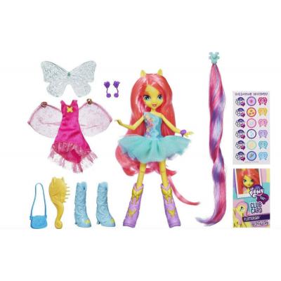 My Little Pony Equestria Girls Fluttershy Doll Флаттершай с аксессуарами