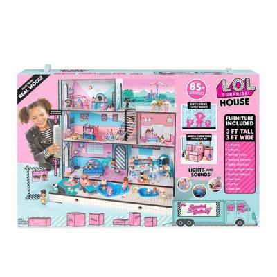 МОДНЫЙ ОСОБНЯК - L.O.L. Игровой меганабор с куклами