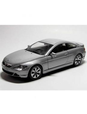 Автомодель 1:24 BMW 6 Series серебристый