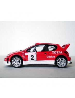Автомодель 1:43 Peugeot 206 WRC