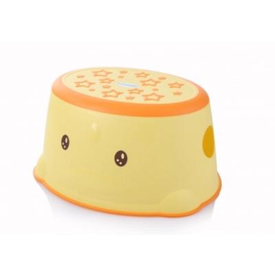 Babyhood - ступеньки в ванную Утенок, желтый (BH-508Y)