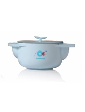 Babyhood - набор детской посуды 3 в 1, голубой (BH-405B)