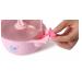 Babyhood - набор детской посуды 3 в 1, розовый (BH-405P)