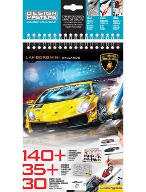 Альбом для творчества Lamborghini Gallardo Design Masters