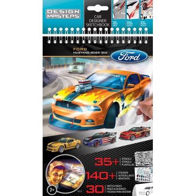 Альбом для творчества Ford Mustang Design Masters